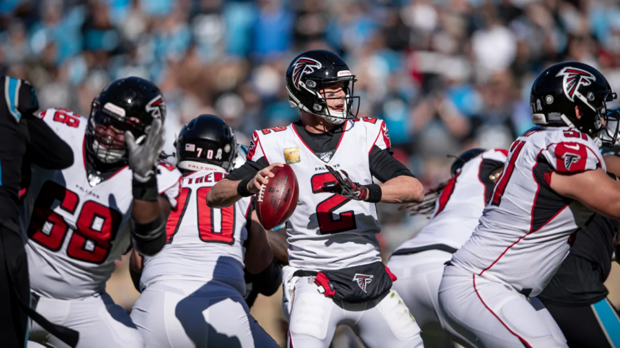 Falcons+at+the+Panthers