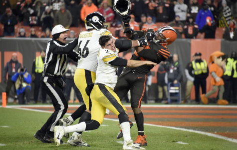 Steelers at the Browns