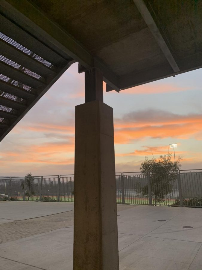 This past Friday, a beautiful sunset painted the sky over Sage Creek as all winter sports teams played league games against SDA. Varsity boys and girls soccer games tied while both varsity basketball teams lost during away games at SDA. Boys JV basketball took a win playing at home.