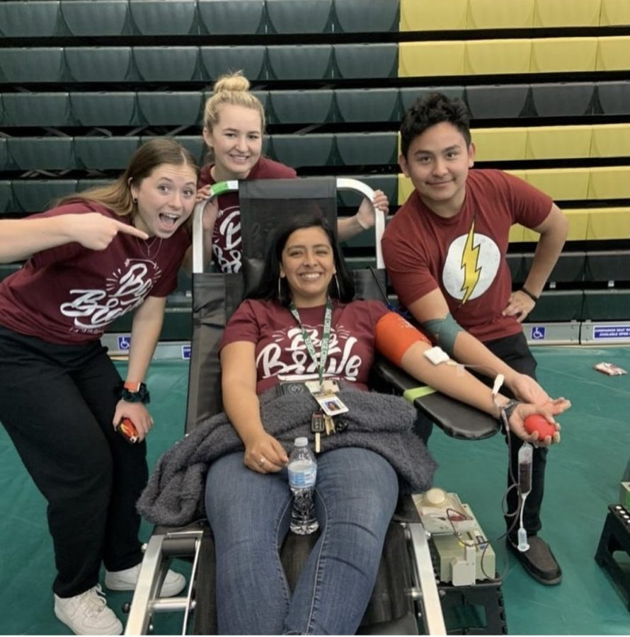 ASB held its second blood drive on Thursday, February 27. The blood gets donated to different hospitals around the US.