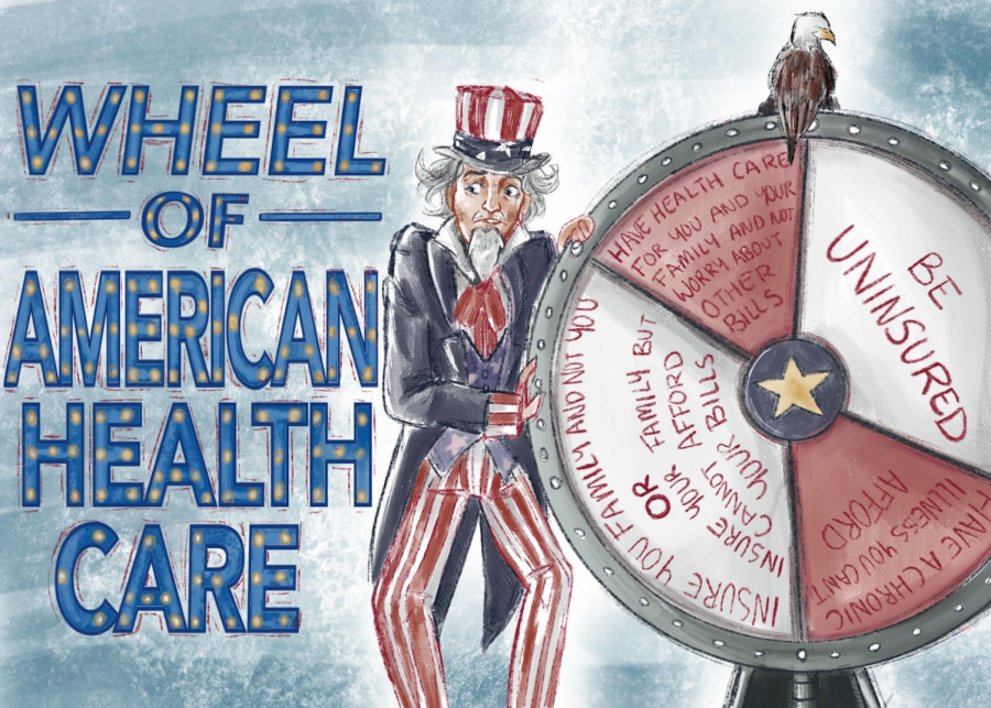 The+healthcare+system+in+America+is+truly+unpredictable.+It+has+its+benefits%2C+but+it+also+has+its+drawbacks%3B+oftentimes%2C+Americans+are+not+given+the+proper+care+that+they+need.