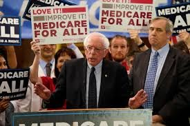 A Bernie-Sanders/Warren style Medicare-For-All plan would overwhelm the government budget.  Like the government budget costs in Canada, it would only be a matter of time before the U.S. can only spend its budget on healthcare.
