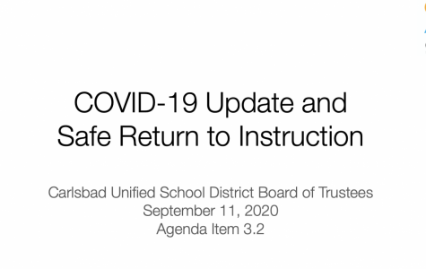 The CUSD board of trustees met on Sept. 11 to make their final elementary reopening decision. The goal was to find a plan that would be the best transition from online to at campus learning.