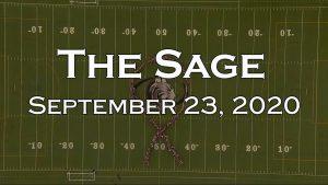 The Sage: September 23, 2020