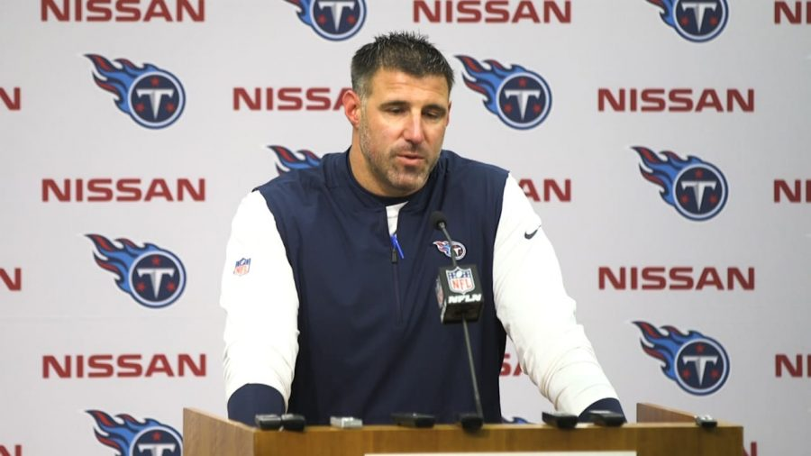 Tennessee Titans head coach, Mike Vrabel is under scrutiny after 23 Titans players and personnel test positive for COVID-19. The NFL has since launched an investigation into how COVID-19 spread throughout the Titans facility.