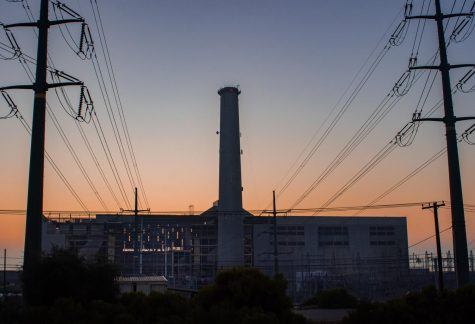 Neighboring Carlsbad Village and Tamarack Beach, the NRG Cabrillo Power Plant starts deconstruction on its controversial smokestack building this week. Attempts to classify the 400 foot tall structure as a historical landmark and reserve it as the county's backup plant failed as NRG released their announcement.
