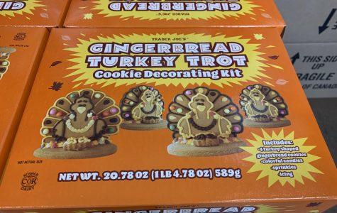 Gingerbread Turkey Trot Cookie Decorating Kit