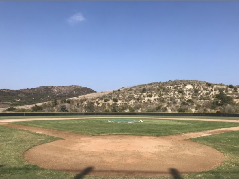 The Sage Creek Baseball field is ready to be used for practicing when players return to the field.  Carlsbad Unified School District got the first step started by making the field safe and ready for play.
