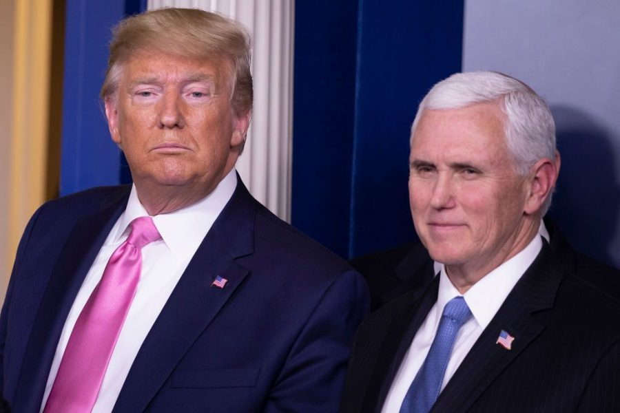 President Donald Trump and Vice President Mike Pence look to win another term in The White House. Trump has been an extremely controversial president and it is uncertain whether he will claim another term.