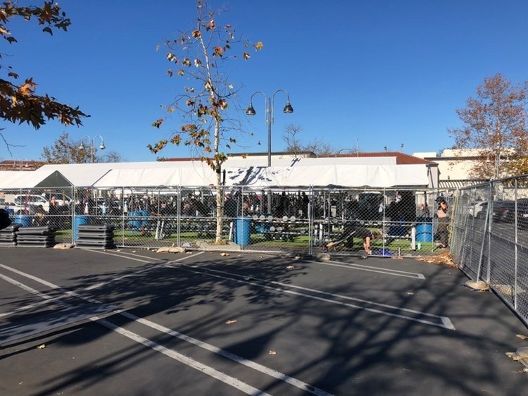 In order to stay open, many gyms in Carlsbad have resorted to outdoor exercise areas. With San Diego County's rising COVID-19 cases, many non-essential businesses have been forced to close.
