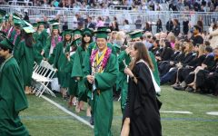 One of Sage Creek's previous graduation ceremonies. With the different circumstances of this year, it is unknown whether or not the class of 2021 will experience the quintessential graduation, let alone the other three events funded by class council that are highly anticipated.