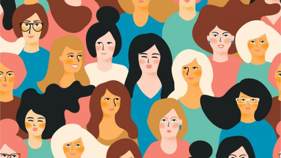 All different types of women are celebrated during Women's History Month. Each woman has a different story as to how they arrived to where they are now.