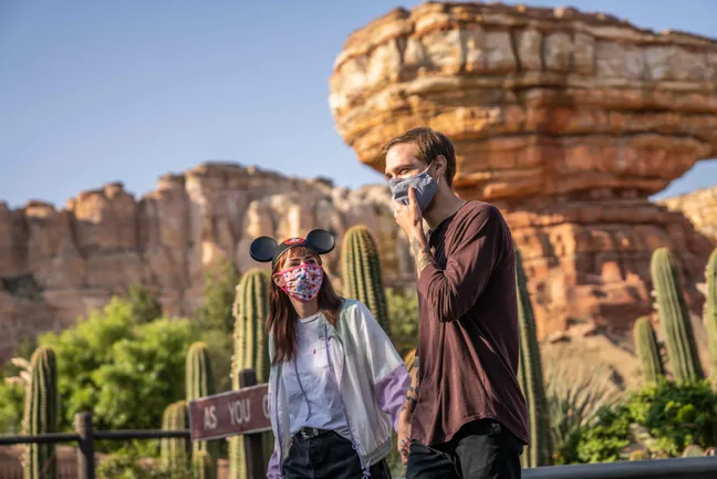 Disney welcomes their visitors back to their park. Visitors at Disney will be required to wear their masks properly and to try to maintain social distance. Many Disney-related parks will open in late April.