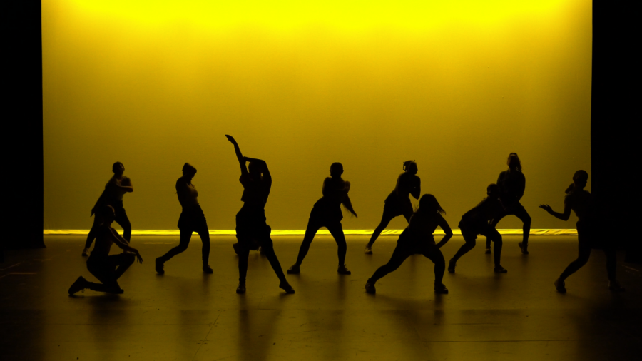 """Dance 2 and 3 open their Hip-Hop performance, part of the Dance program's upcoming show """"Elevate"""". The show will be live-streamed at https://schsdance.weebly.com on May 21 at 7 p.m."""