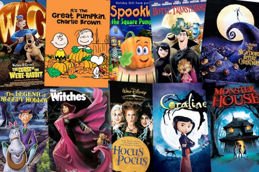 There are various types of Halloween movies, from family friendly to horror films. Watching these movies throughout October gets people into the spooky spirit.
